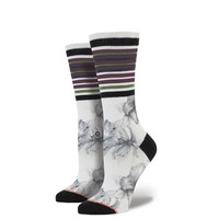 Stance | Island Jam White socks | Buy at the Official website Main Website.