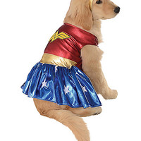Wonder Woman Pet Costume - Spirithalloween.com