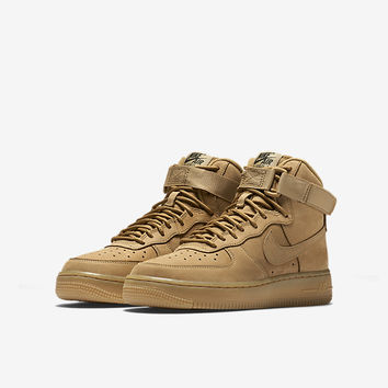 The Nike Air Force 1 High LV8 Big Kids' Shoe.