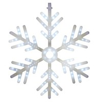 Philips Cascading Large LED Hanging Snowflake Light