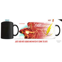 Justice League The Flash Morphing Mug