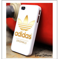 Adidas Gold Logo iPhone 4s iPhone 5 iPhone 5s iPhone 6 case, Galaxy S3 Galaxy S4 Galaxy S5 Note 3 Note 4 case, iPod 4 5 Case