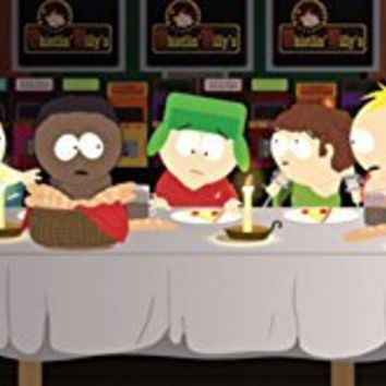 South Park - Last Supper Mini Poster 36 x 12in