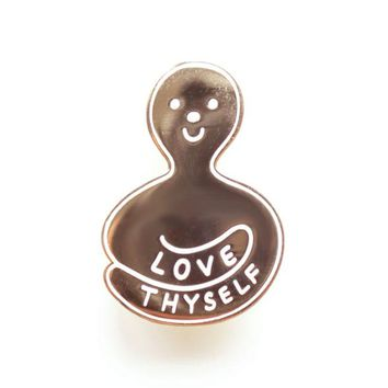 Love Thyself Enamel Pin