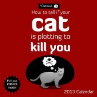 How To Tell If Your Cat Is Plotting To Kill You 2013 Wall Calendar