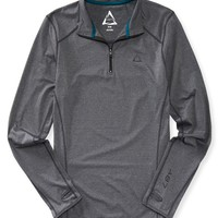 Long Sleeve Marled 1/4 Zip Top