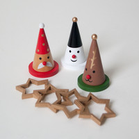 Holiday Wood Toy Ringtoss - Default