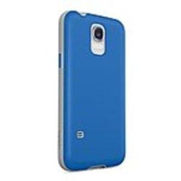 Belkin F8M910B1C01 AIR PROTECT Grip Candy SE Protective Case for Samsung Galaxy S5 Cell Phones - Lacquer Blue/Stone