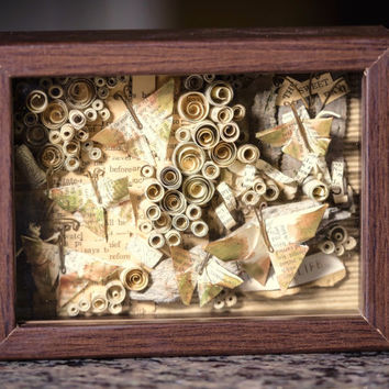 ON SALE—Woodland Sanctuary Shadow Box