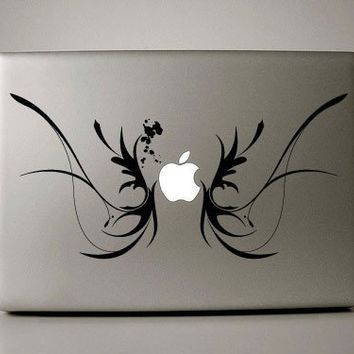 Macbook Pro Decal  wings by williamandcindy on Etsy