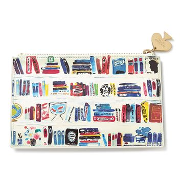 Kate Spade New York Like a book pencil pouch