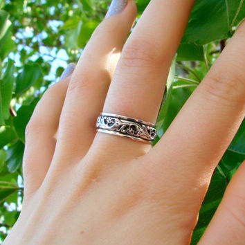 Forever Yours  Sterling Silver Designer Style by Firefallstudios