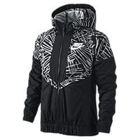 The Nike Windrunner Girls' Hoodie.