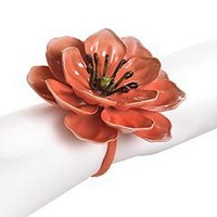 Pier 1 Imports - Product Details - Pink Flower Napkin Ring