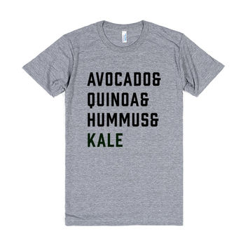 Avocado And Quinoa And Hummus And Kale