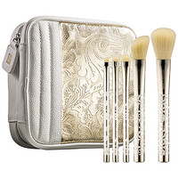 SEPHORA+PANTONE UNIVERSE Precious Metal 24-Karat Bag & Brush Set