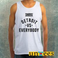 Eminem Shady Detroit vs Everybody Clothing Tank Top For Mens