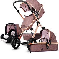 Multifunctional Light Folding Car Seat Basket Stroller