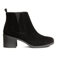 H&M Suede Ankle Boots $69.99