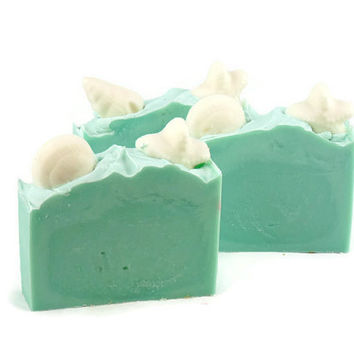 Teal Beach Soap