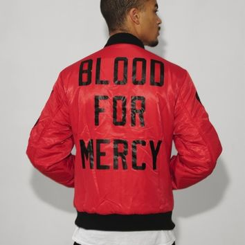 RED BLOOD FOR MERCY BOMBER - Yellow Claw
