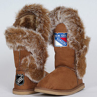 Cuce Shoes New York Rangers Women's Fanatic Boot