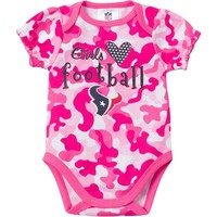 Houston Texans Camouflage Bodysuit - Baby Girl, Size: