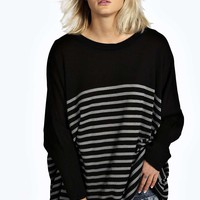 Lisa Stripe Oversized Jumper