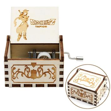 New Arrivals Wood Music Box  Zelda Star Wars Game Of Thrones Castle In The Sky Beauty And Beast Theme Christmas Gift