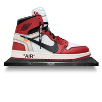 Nike x Off-White The Ten: Air Jordan 1 Retro High 'Chicago Red'