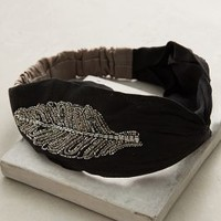 Sylvana Turban Band by Anthropologie in Black Size: One Size Hair