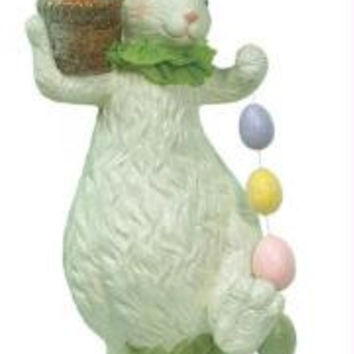 2 Easter Figures - Bunny With Eggs