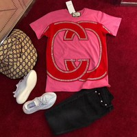GUCCI Women Short Sleeve Top