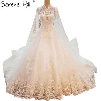 White Square Collar Bride Train Wedding Dresses Lace Flowers Beading Sexy Wedding Gowns