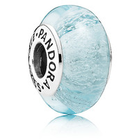 Disney Frozen Elsa Signature Color Charm by Pandora Murano Jewerly Charm New