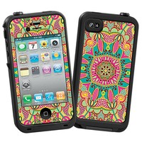 Brilliant Tribal Skin  for the iPhone 4/4S Lifeproof Case by skinzy.com