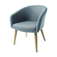 Wood Finish Occasional Chair | Kmart