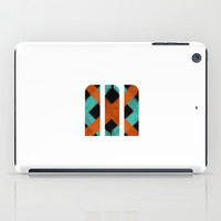 M Crisscross iPad Case by Matt Irving