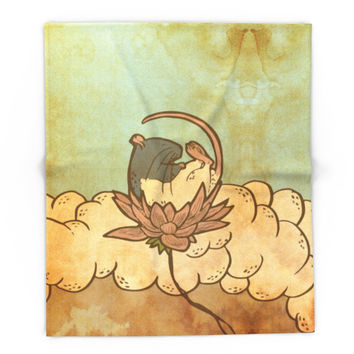 Society6 Muroidea Rat Tarot- Death Blanket