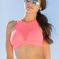 Boardwalk Mesh Bikini Top