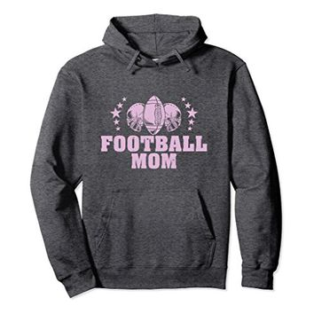 Football Mom Hoodie Helmets and Footballs for Football Moms