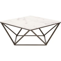 Tintern Coffee Table, Stone & A. Brass