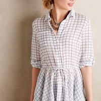 Checkmarked Buttondown by Anthropologie