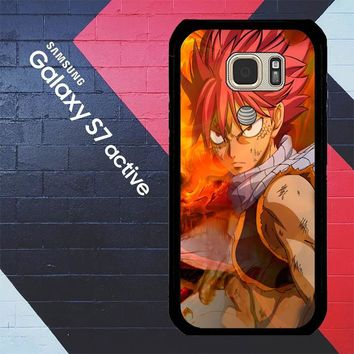 Fairy Tail Natsu Happy X4824 Samsung Galaxy S7 Active Case