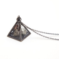 obey - women's wasteland necklace (more colors) - obey | 80's Purple
