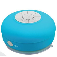Supersonic Bluetooth Waterproof Speaker-Blue