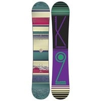 K2 First Lite Snowboard + Charm Bindings - Women's 2015