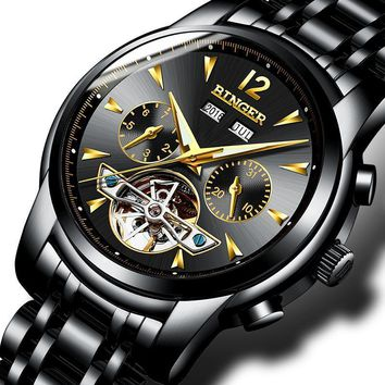 Water Resist Mechanical Men Wristwatches