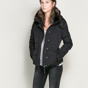 SHORT PUFFER JACKET - Coats - Woman | ZARA United States
