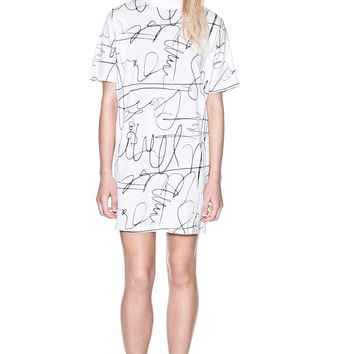 Tee Autograph Dress | dresses | Cheapmonday.com